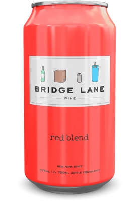 Bridge Lane Red Blend 4-Pack (Cans)