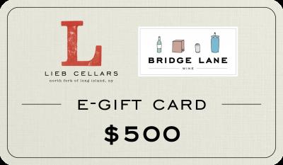 $500 E-Gift Cards