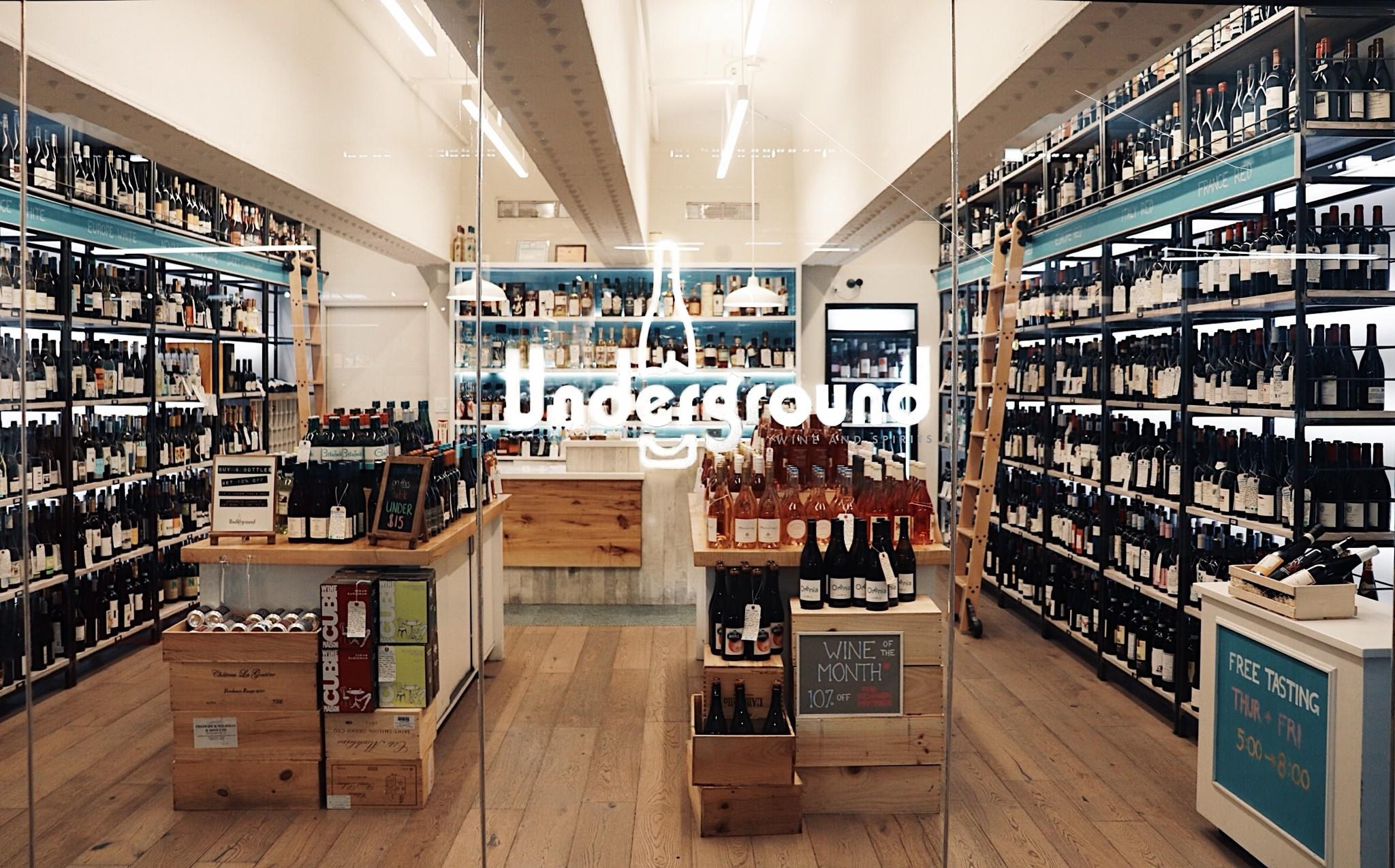 In-Store Tasting at Underground Wine & Spirits